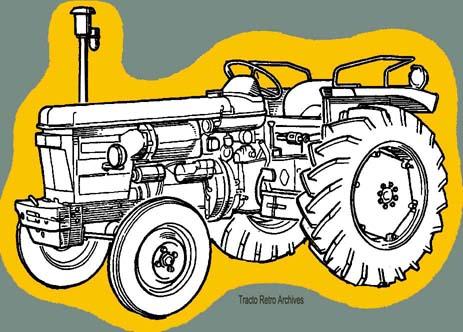 Manuel et revue technique pour tracteur renault super 3 et - Dessin d un tracteur ...