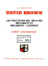 david brown 995 manual pdf
